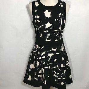 Banana Republic Blk&Wht a-line sleeveless Dress